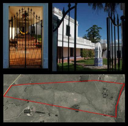 la histórica estancia Uruguay